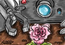 Robot & Flower