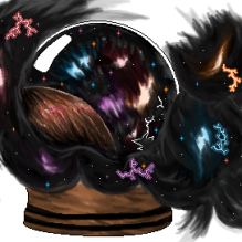 Space Snowglobe